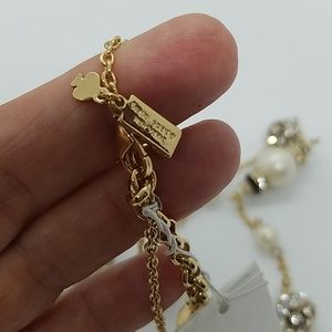 kate spade Jewelry - Kate Spade Tuxedo Pearls Long Necklace